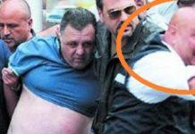 Il poliziotto della Squadra mobile, Luciano Iavarone