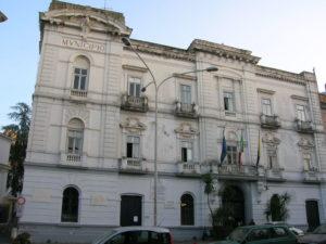 La sede dell'Amministrazione comunale di Castellammare di Stabia