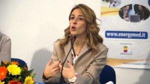 L'assessore regionale Chiara Marciani
