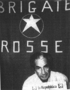 L'ex presidente della Dc, Aldo Moro