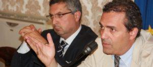 Il sindaco Luigi de Magistris e il capo di Gabinetto, Attilio Auricchio