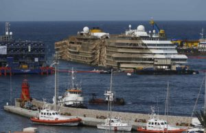 Il recupero della Costa Concordia