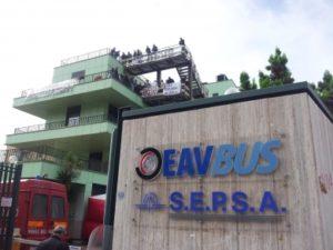 La sede dell'Eav a Napoli