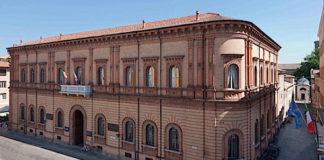 La sede della Cassa di risparmio di Ravenna