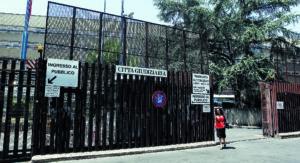 La sede della cittadella giudiziaria a Roma