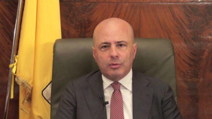 Il coordinatore provinciale di Forza Italia, Antonio Pentangelo