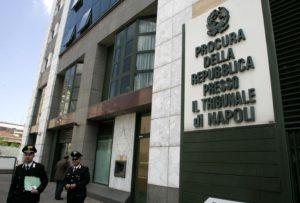 La sede della Procura di Napoli (Stylo24)
