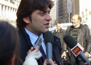 Il consigliere comunale Andrea Santoro (Fratelli d'Italia-Alleanza nazionale)