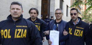 L'arresto del boss Carlo Lo Russo