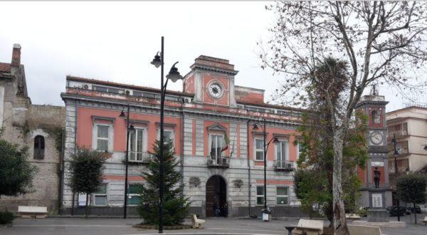 Il Municipio di Arzano