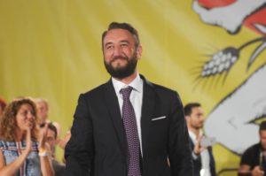 Il candidato governatore M5S Giancarlo Cancelleri