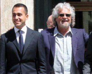 Luigi Di Maio e Beppe Grillo