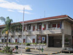 Il Municipio di Brusciano