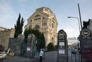 L'ingresso del Cimitero Poggioreale