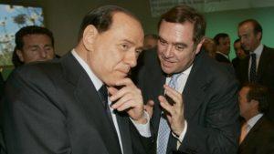 Clemente Mastella e Silvio Berlusconi