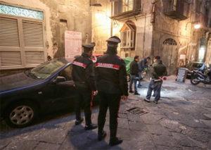 I rilievi dei carabinieri sul luogo dell'agguato