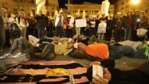 La rivolta dei cuscini a Palermo