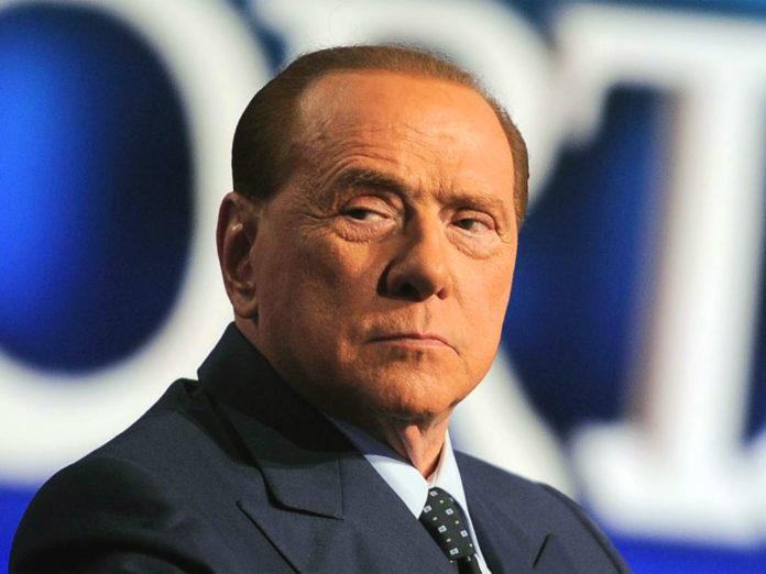 Il leader del centrodestra Silvio Berlusconi