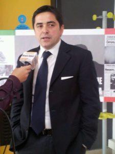L'autore del libro, Vincenzo Zurlo