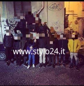 La paranza in mostra nei vicoli di Napoli