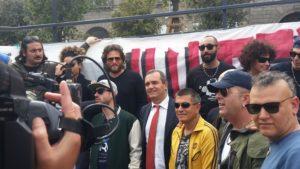 «Terroni uniti» con il sindaco di Napoli Luigi de Magistris