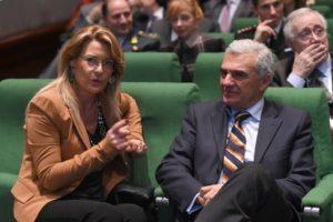 Giovanna Napoletano e Renato Balduzzi