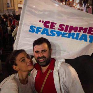 La consigliera comunale Maria Caniglia e suo fratello Vincenzo