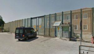 L'esterno del carcere di Avellino
