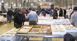 Il mercato ittico di Pozzuoli