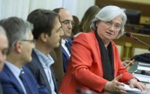 La presidente della commissione parlamentare antimafia, Rosy Bindi