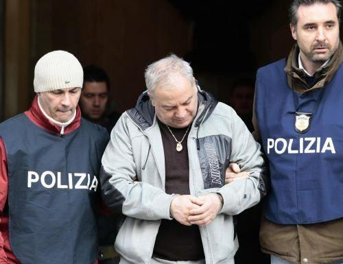 L'arresto di Domenico D'Ausilio