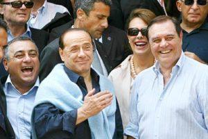 Silvio Berlusconi, Sandra Lonardo e Clemente Mastella