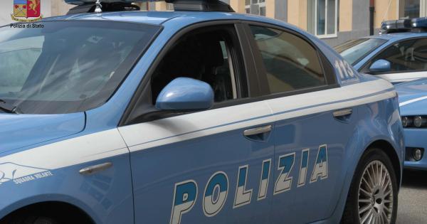 polizia gambizzato