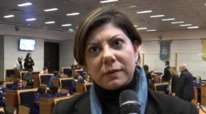 La consigliera regionale Antonella Ciaramella