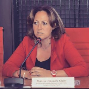 La Dott.ssa Antonella Giglio