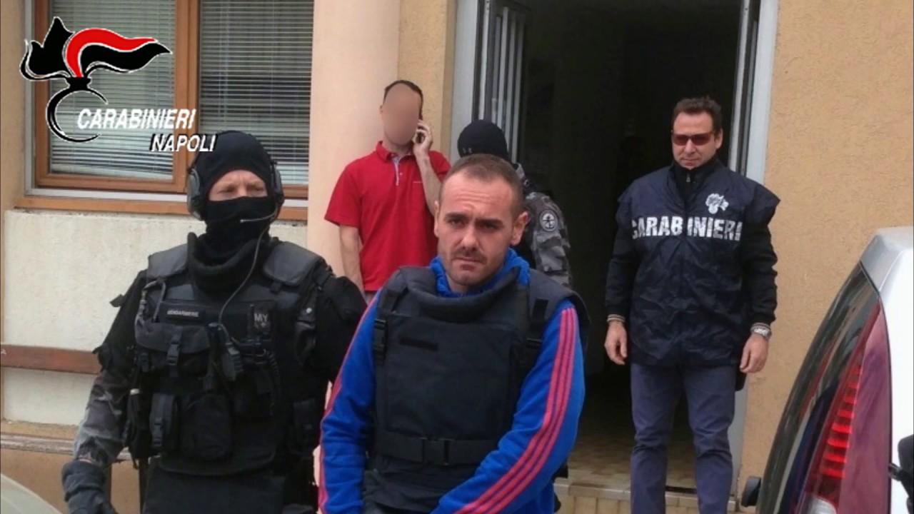 Antonio Lo Russo al momento dell'arresto a Nizza in Francia