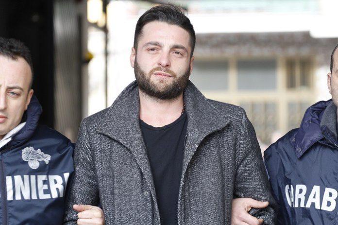 L'arresto di Walter Schiavone, il 7 febbraio 2017