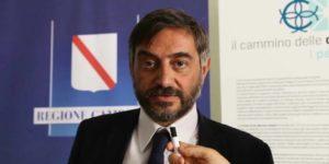 L'assessore al Turismo della Regione Campania, Corrado Matera