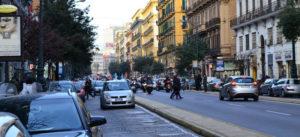 Napoli, il Corso Umberto I