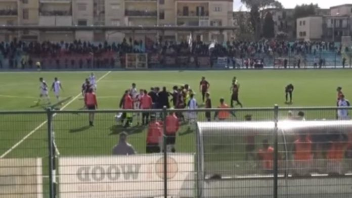 Portici Nocerina fair play dimissioni Maiuri