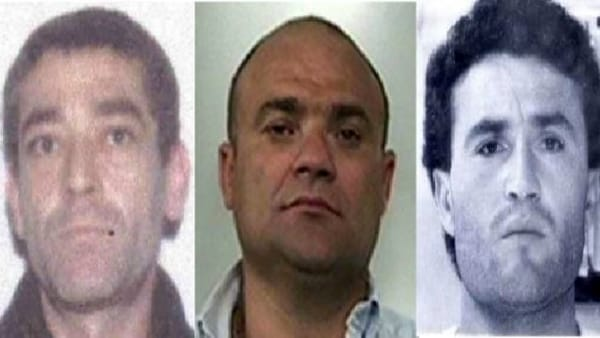 Walter Schiavone, 56 anni, Enrico Martinelli, 53 anni, e Antonio Mezzero, 55 anni