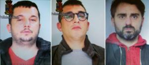 Domenico Senneca, Antonio Esposito, Antonio Mastropietro