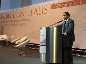 Il presidente di Alis, Guido Grimaldi