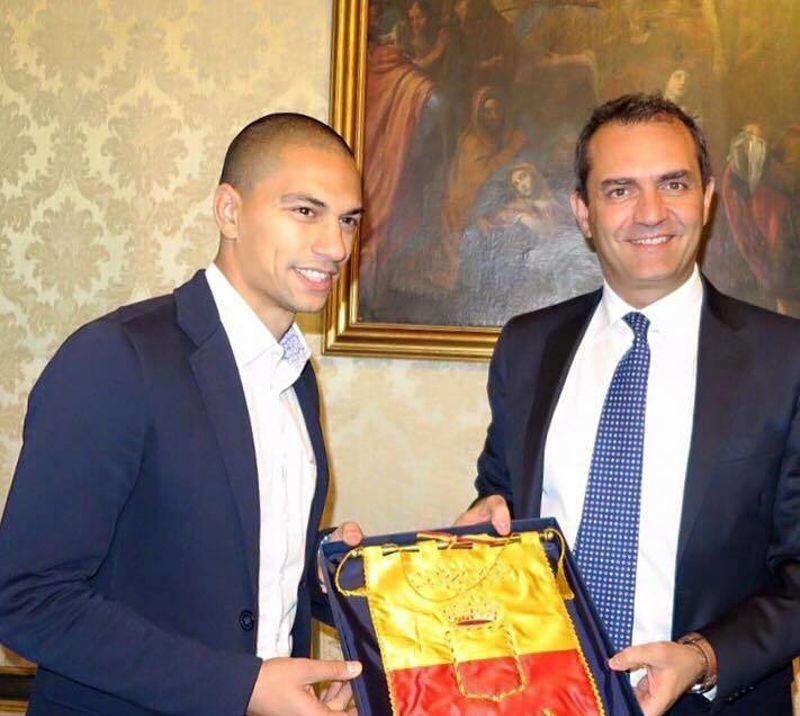 Alberto Angela Cittadino Onorario di Napoli