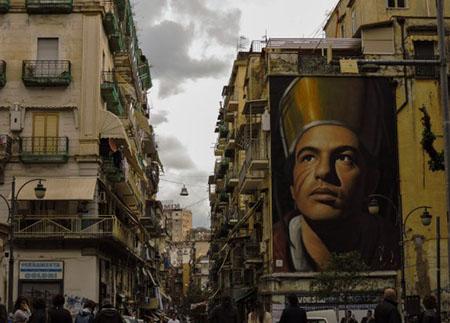 Il quartiere Forcella a Napoli