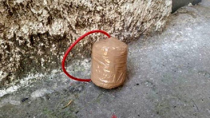 Monterusciello, bomba al centro scommesse: autori del raid ripresi dalle videocamere
