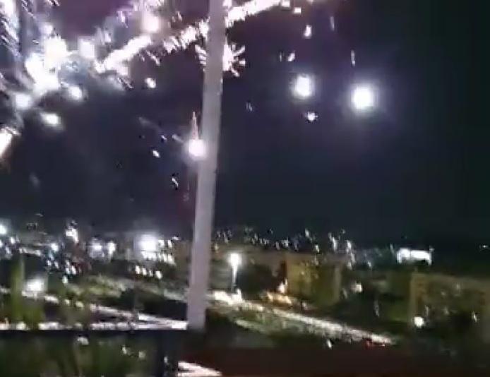 fuochi artificio festa fuorigrotta