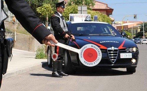 paletta alt carabinieri