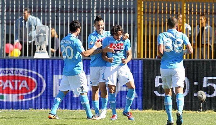 Ssc Napoli Oggi Avvenne Lecce Napoli 0 2 Del 2012