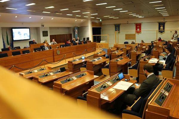 L'aula del Consiglio regionale della Campania